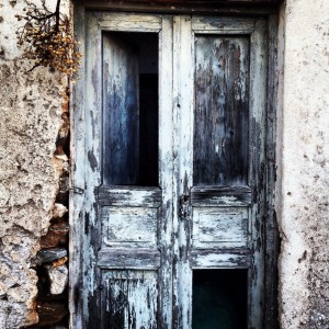 Antique door, Antiparos