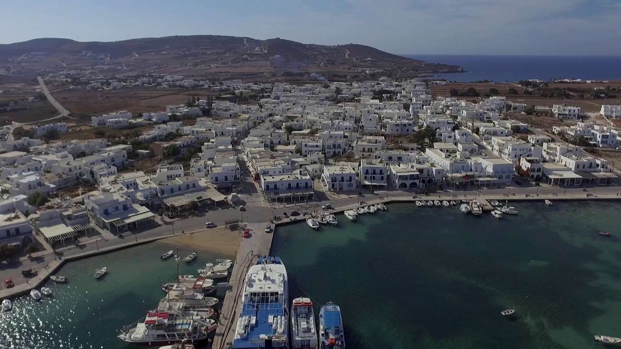Antiparos 360 from drone